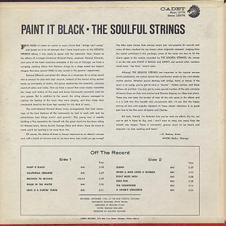 Soulful Strings / Paint It Black back