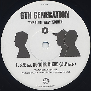 6th Generation / The Right Way Remix EP back