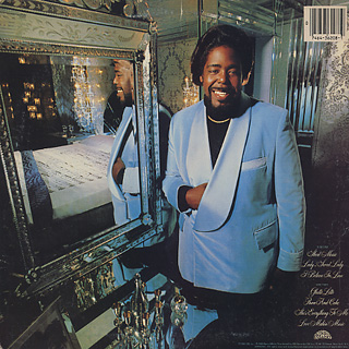 Barry White / Sheet Music back