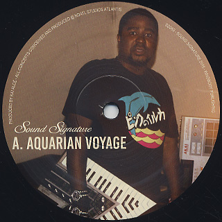 Byron The Aquarius / High Life EP label