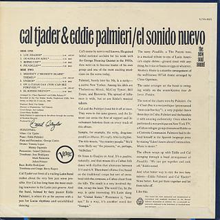 Cal Tjader & Eddie Parmieri / El Sonido Nuevo back