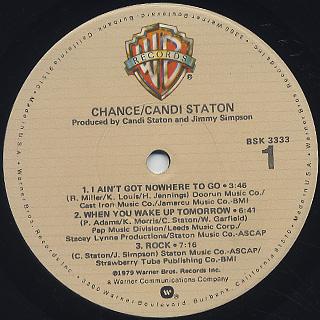 Candi Staton / Chance label