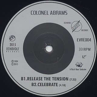 Colonel Abrams / You Got Me Running label