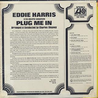 Eddie Harris / Plug Me In back