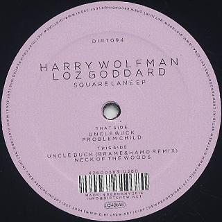 Harry Wolfman & Loz Goddard / Square Lane EP
