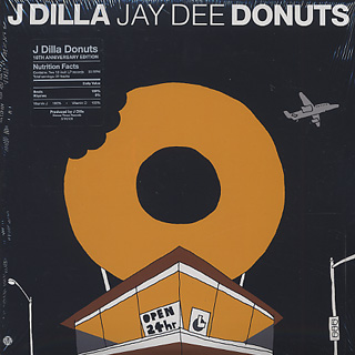 J Dilla / Donuts (10th Anniversary Edition) front