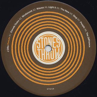 J Dilla / Donuts (10th Anniversary Edition) label