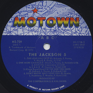 Jackson 5 / ABC label