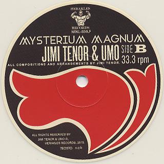 Jimi Tenor & Umo / Mysterium Magnum label