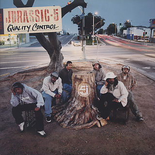 Jurassic 5 / Quality Control front