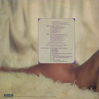 Main Ingredient / Afrodisiac back