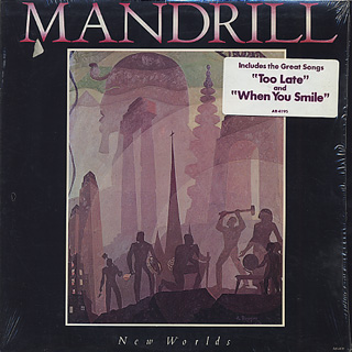 Mandrill / New Worlds front
