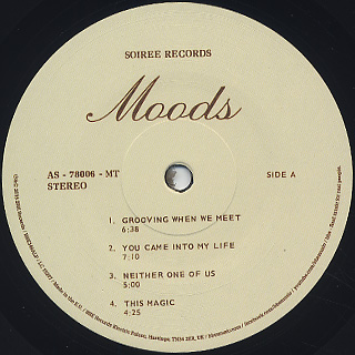 Moods / S.T. label