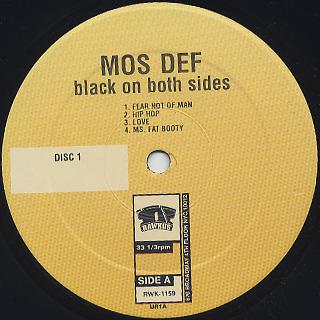 Mos Def / Black On Both Sides label