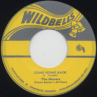 Movers Prince Buster's All Star / Come Home Back back