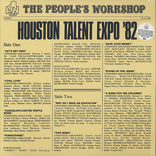 People's Workshop / Houston Talent Expo '82