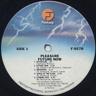 Pleasure / Future Now label