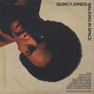 Quincy Jones / Walking In Space back