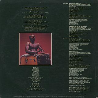 Ralph MacDonald / Sound Of A Drum back