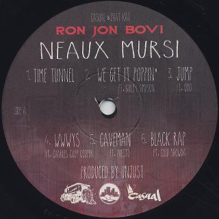 Ron Jon Bovi / Neaux Mursi label