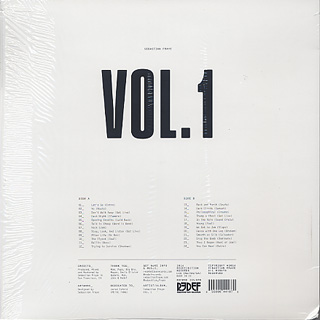 Sebastian Fraye / Vol.1 back