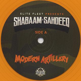 Shabaam Sahdeeq / Modern Artillery label