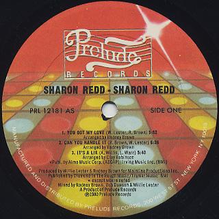 Sharon Redd / Sharon Redd label