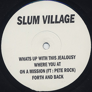 Slum Village / It's Fantastic Pt. 2 front