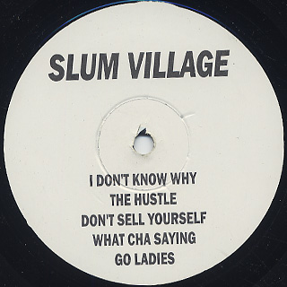 Slum Village / It's Fantastic Pt. 2 back