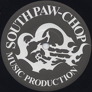 Southpawchop feat. A.G. / Finger Prints On The Records back