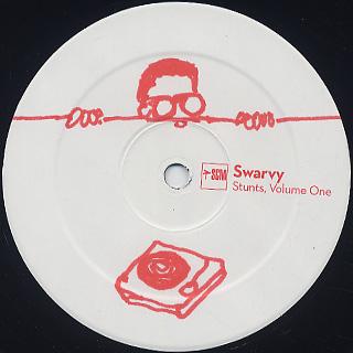 Swarvy / Stunts Vol.1-4 label