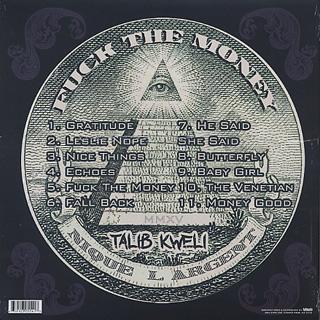 Talib Kweli / Fuck The Money back