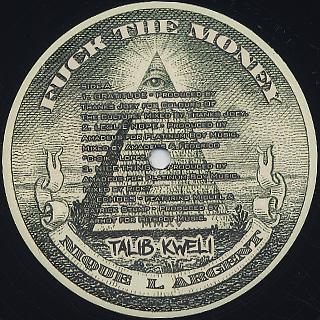Talib Kweli / Fuck The Money label