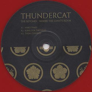 Thundercat / The Beyond/Where The Giant Roam label