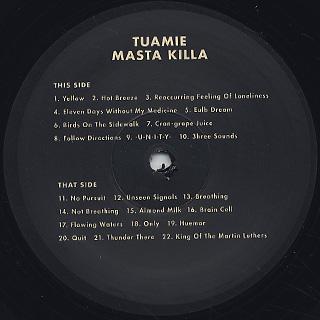 Tuamie / Masta Killa label