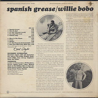 Willie Bobo / Spanish Grease back