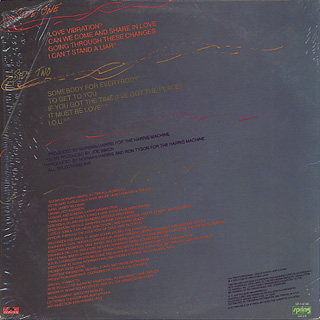 Joe Simon / Love Vibrations back