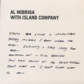Al Nobriga With Island Company / My Last Disco Song b/w Break Away