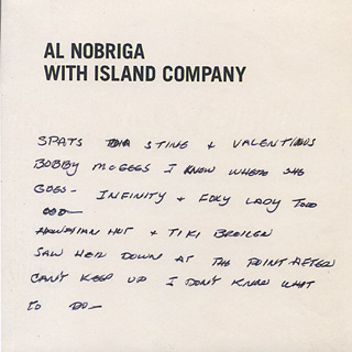 Al Nobriga With Island Company / My Last Disco Song b/w Break Away