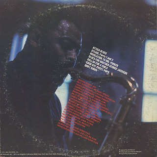 Archie Shepp / Atica Blues back