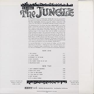 B.B. King / The Jungle back