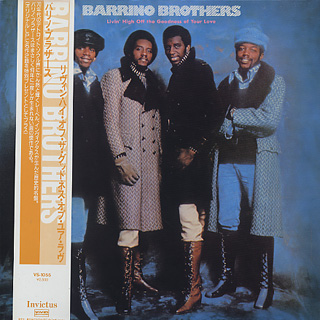 Barrino Brothers / Livin' High Off The Goodness Of Your Love front