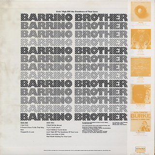 Barrino Brothers / Livin' High Off The Goodness Of Your Love back