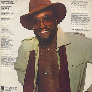 Billy Paul / Only The Strong Survive back