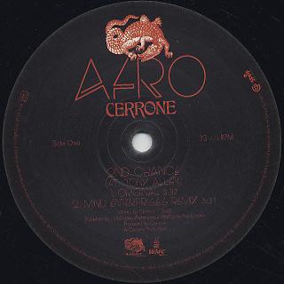 Cerrone / Afro label