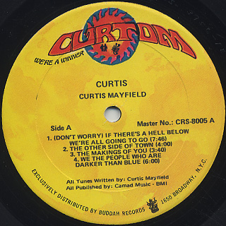 Curtis Mayfield / Curtis label
