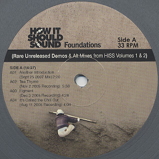 Damu The Fudgemunk / Rare Unreleased Demos & Alt Mixes From HISS Vol.1 & 2 label