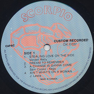 Demo Cates / Stealing Love label