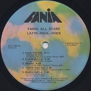 Fania All Stars / Latin - Soul - Rock label