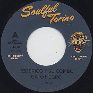 Federico Y Su Combo Latino / Gato Negro c/w Combo Los Galleros / Tabaco Mascao